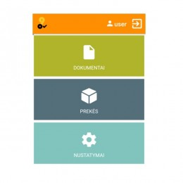 Duomenų kaupiklio valdymo programa 9oCheck Android