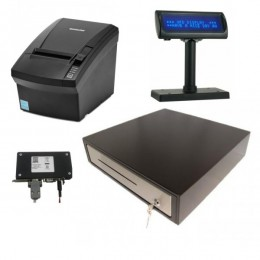 Kompiuterinis kasos aparatas GAMA su fiskaliniu bloku ASFA-100 SD