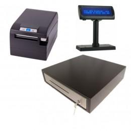 Kompiuterinis kasos aparatas GAMA su fiskaliniu spausdintuvu FP-2000