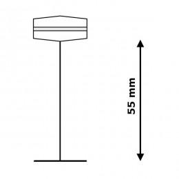 Kainų, prekių etikečių laikiklis segikliui MOTEX MTX-05 Fine (5000 vnt.)