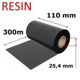 Karboninė juosta (dažanti juosta) 110mm x 300m RESIN, OUT