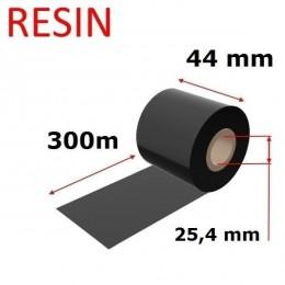 Karboninė juosta (dažanti juosta) 44mm x 300m RESIN, OUT