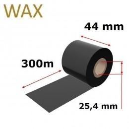 Karboninė juosta (dažanti juosta) 44mm x 300m WAX, OUT