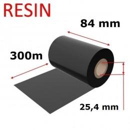 Karboninė juosta (dažanti juosta) 84mm x 300m RESIN, OUT