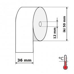 Kasos aparato juosta 36 mm 29 m Termo (skersmuo iki 50 mm)