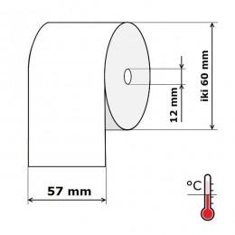 Kasos aparato juosta 57 mm 43 m Termo (skersmuo iki 60 mm)