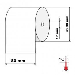 Kasos aparato juosta 80 mm 75 m Termo (skersmuo iki 80 mm)