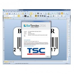 Lipdukų spausdinimo programa BarTender TSC UltraLite