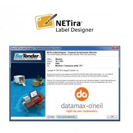 Lipdukų spausdinimo programa Netira Label designer UltraLite