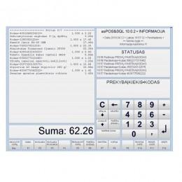 Pardavimų programa SQLPOS