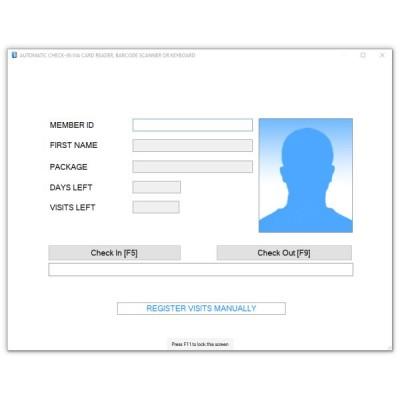 Praėjimo kontrolės sistemos programinė įranga