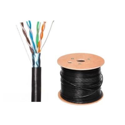 Tinklo kabelis FTP cat5e ekranuotas lauko