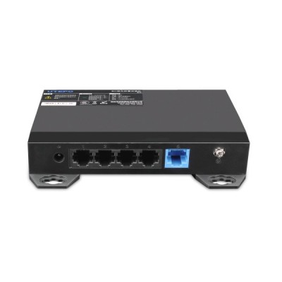 Tinklo komutatorius Utepo SF5 100Mbps su viršįtampio apsauga